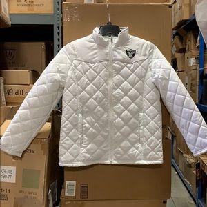 NFL Oakland Raiders Quilted Jacket